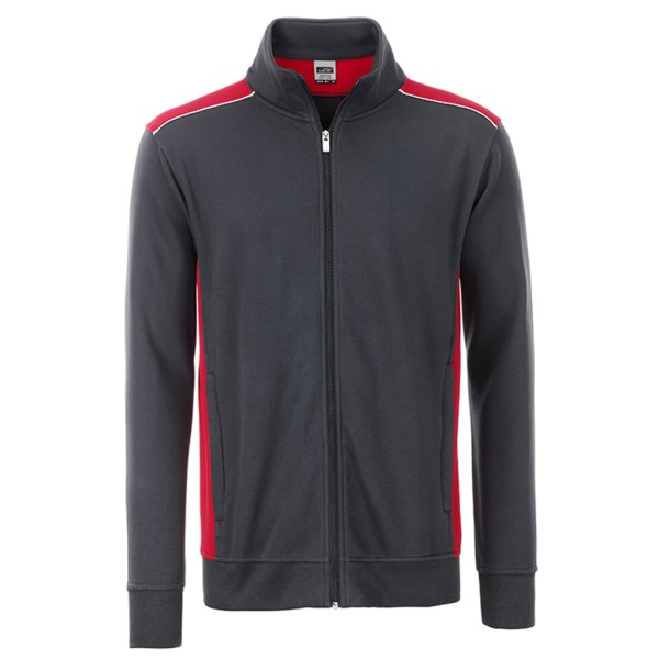 Herren Workwear Sweat Jacket James & Nicholson®