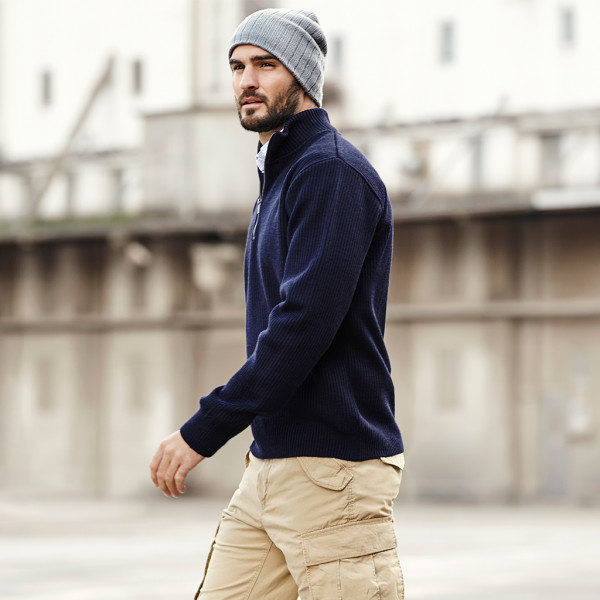 Outdoor Pullover mit Zip ID Identity®