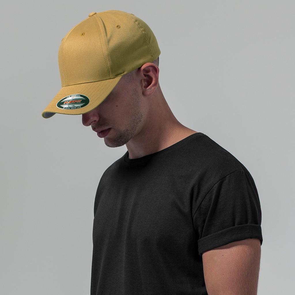 Wooly Combed Baseball-Cap FLEXFIT® | bedrucken, besticken, bedrucken lassen, besticken lassen, mit Logo |
