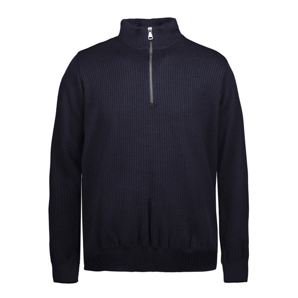 Outdoor sweater with Zip ID Identity®.