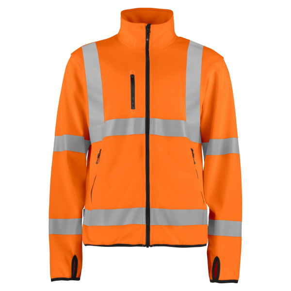 Warning Protection Lightweight safety softshell jacket Projob®