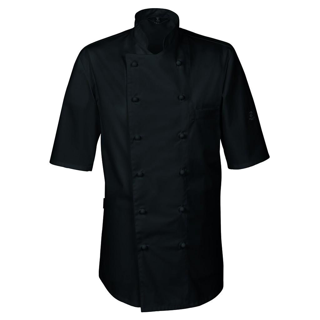 Premium Kochjacke Halbarm Greiff® | bedrucken, besticken, bedrucken lassen, besticken lassen, mit Logo |