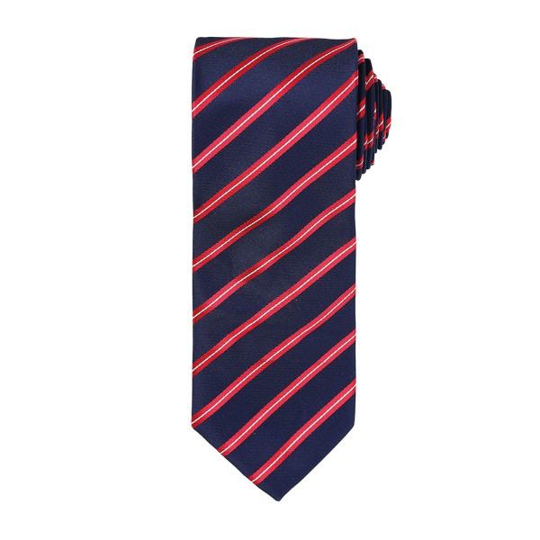 Krawatte mit sportlichen Streifen Premier®