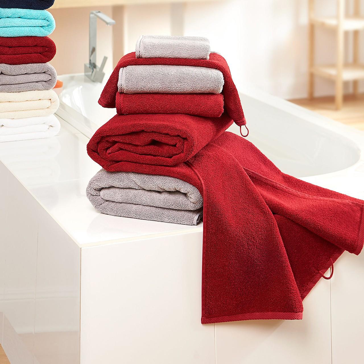 Flauschiges Handtuch Myrtle Beach® | bedrucken, besticken, bedrucken lassen, besticken lassen, mit Logo |