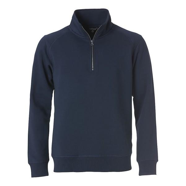Unisex Sweatshirt Classic mit Reißverschluss Clique®