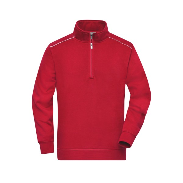 Workwear Sweatshirt Halfzip James & Nicholson®