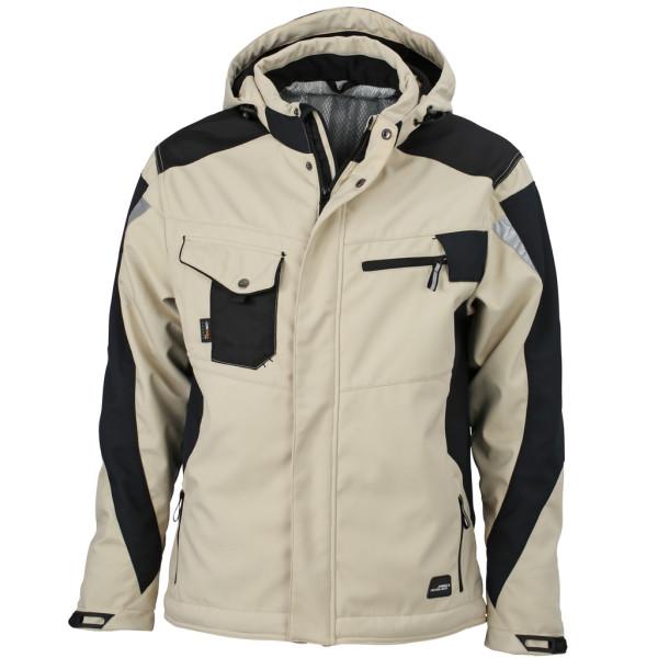 Workwear Winter Softshell Jacke James & Nicholson®
