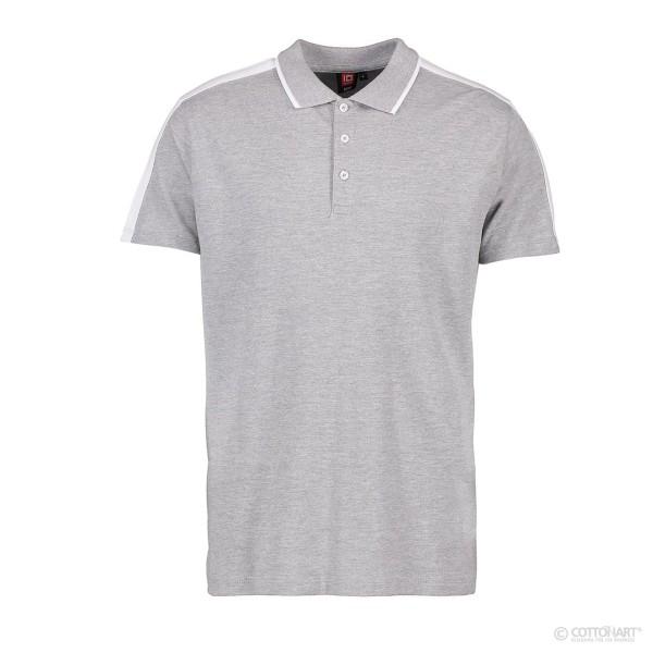 Herren Poloshirt mit Kontrastband ID Identity®