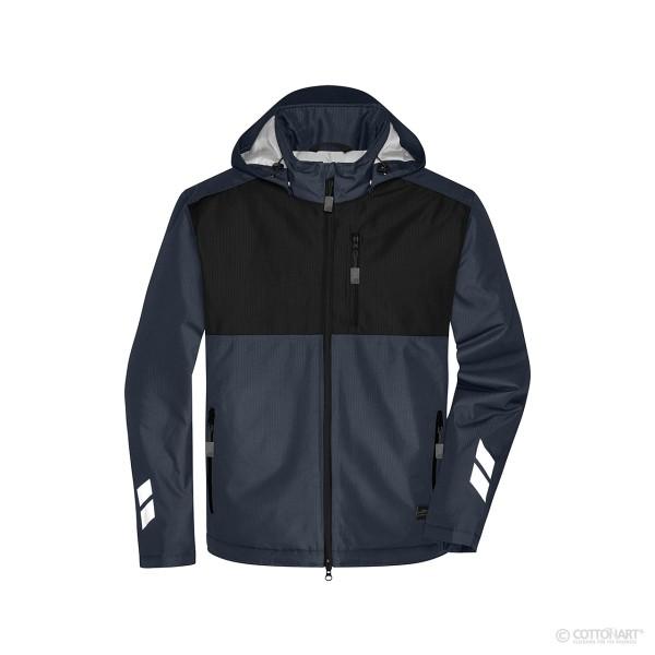 Unisex Padded Hardshell Workwear Jacket James & Nicholson®