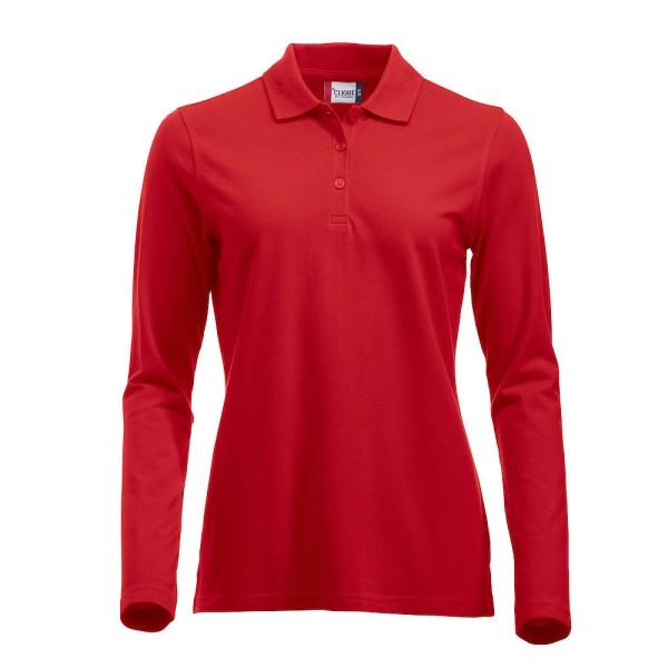 Damen Poloshirt Langarm Classic Marion Clique®