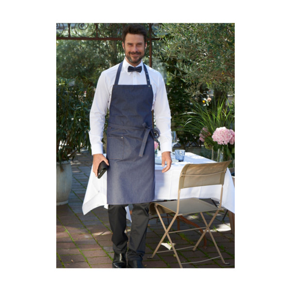 Jeans bib apron with pocket Nucciano CG®