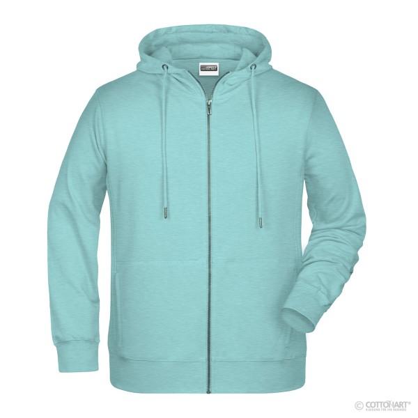 Men's Sweat Jacket with Hood Organic Cotton James & Nicholson®