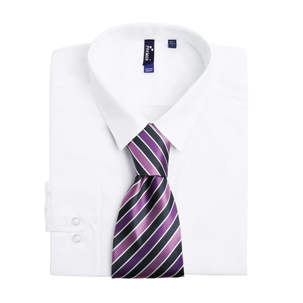 Candy Stripe Krawatte Premier®   bedrucken, besticken, bedrucken lassen, besticken lassen, mit Logo  