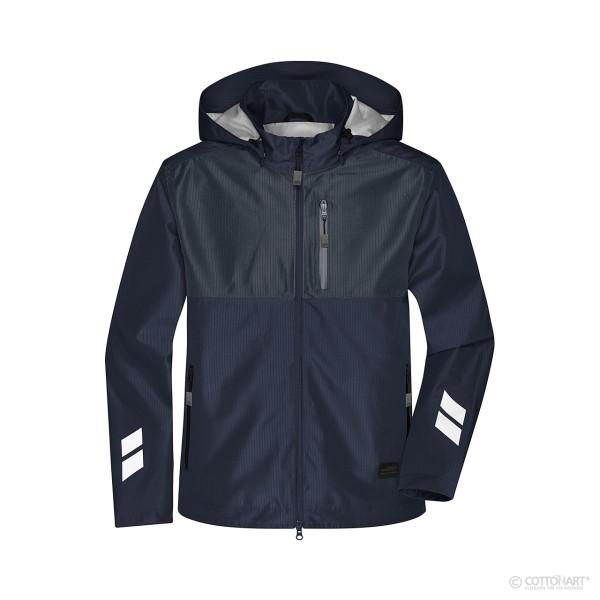 Unisex Hardshell Workwear Jacket James & Nicholson®