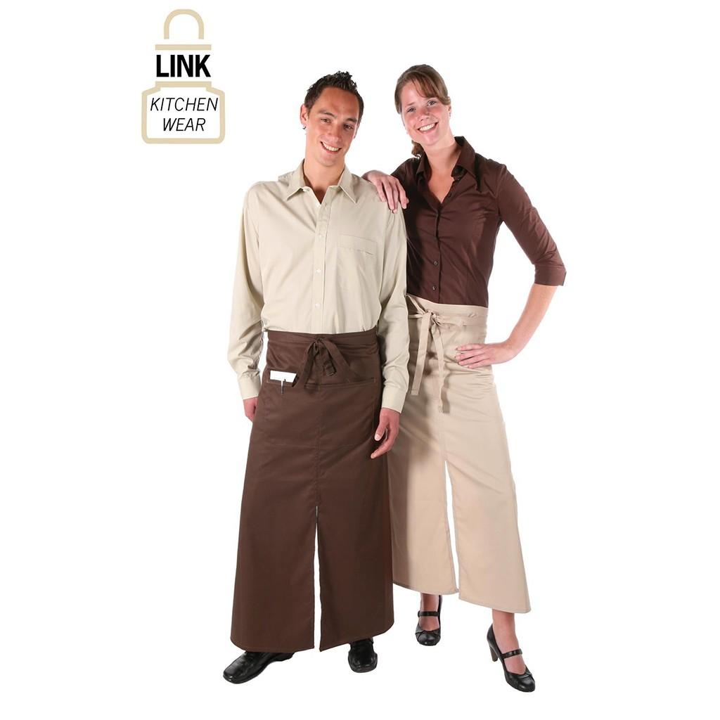 Schlitzschürze Classic Link® | bedrucken, besticken, bedrucken lassen, besticken lassen, mit Logo |