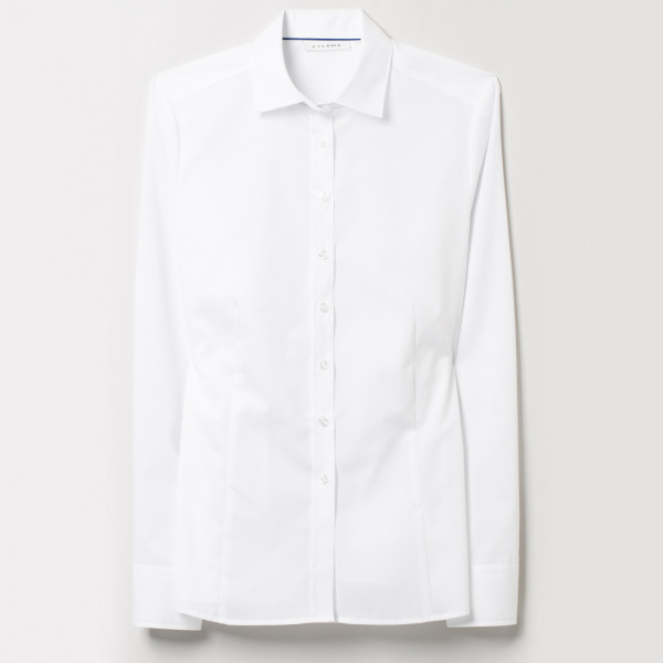 Langarm Bluse Modern Classic Stretch Eterna®