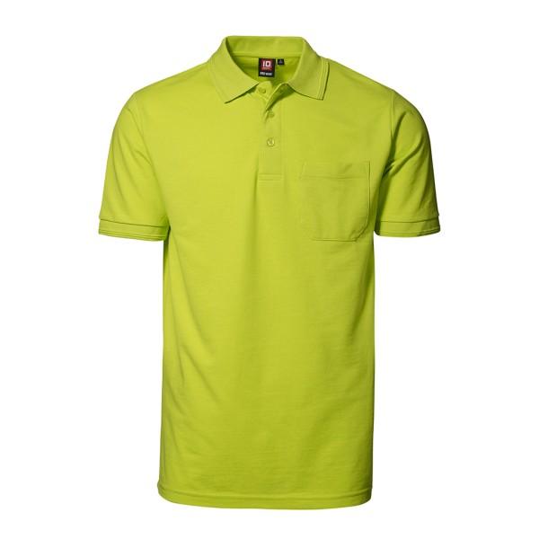 Herren Arbeits Poloshirt Kurzarm mit Brusttasche ID Identity®