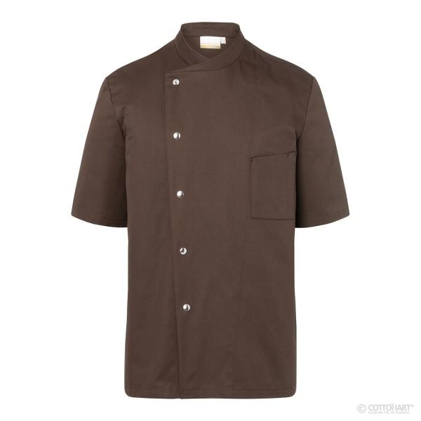 Short sleeve chef's jacket Gustav with press studs Karlowsky®.