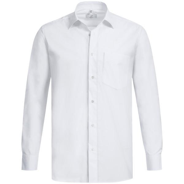 Basic Hemd Langarm Comfort Fit Weiß Greiff®