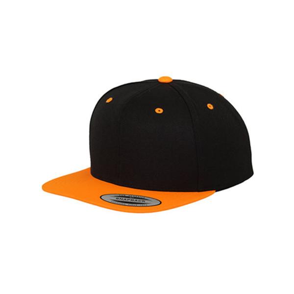 Classic Snapback-Cap zweifarbig FLEXFIT®
