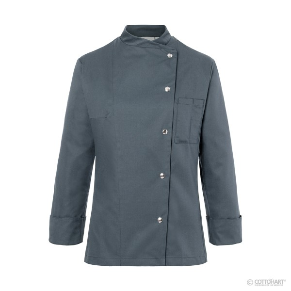 Ladies' chef's jacket Larissa with press studs Karlowsky®.
