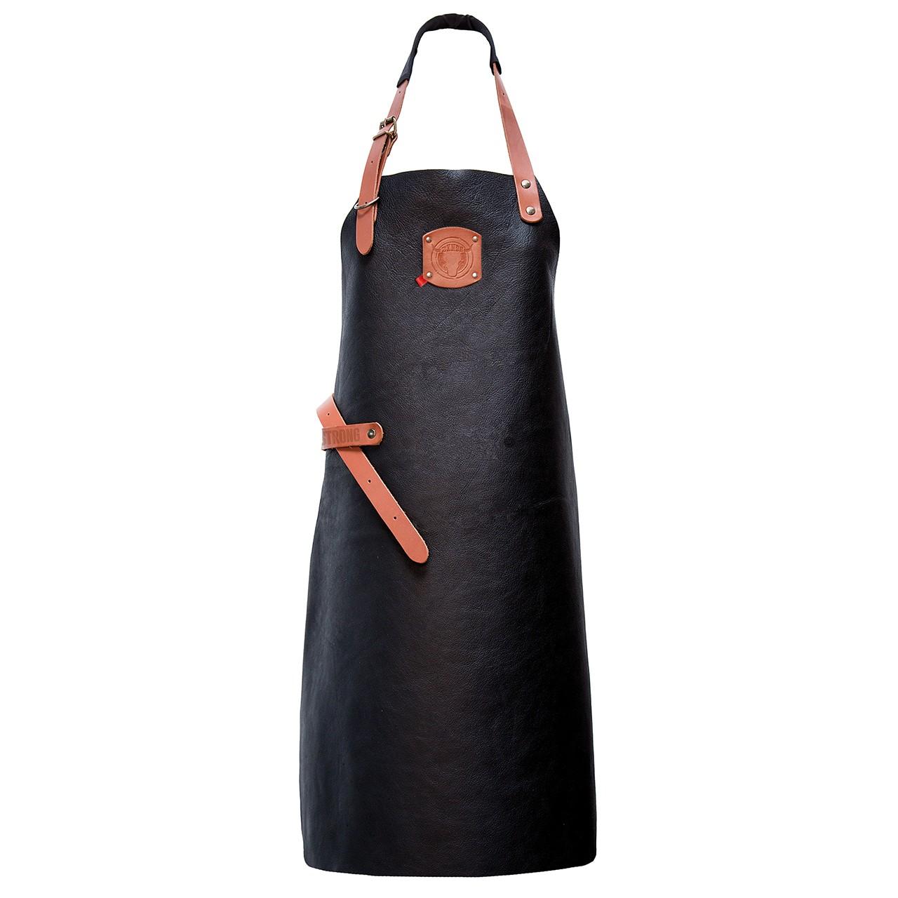 Leder Latzschürze BBQ Exner® | bedrucken, besticken, bedrucken lassen, besticken lassen, mit Logo |
