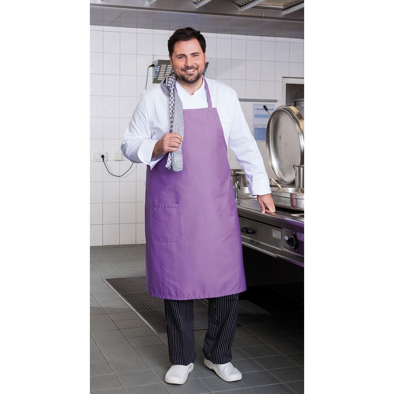 Latzschürze Cuisine Extrabreit Exner® | bedrucken, besticken, bedrucken lassen, besticken lassen, mit Logo |