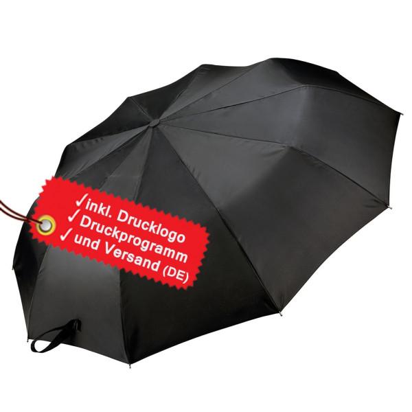 Faltregenschirm bedrucken lassen KiMood®