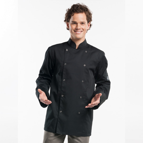 Cooking Jacket Hilton Poco Black Chaud Devant®