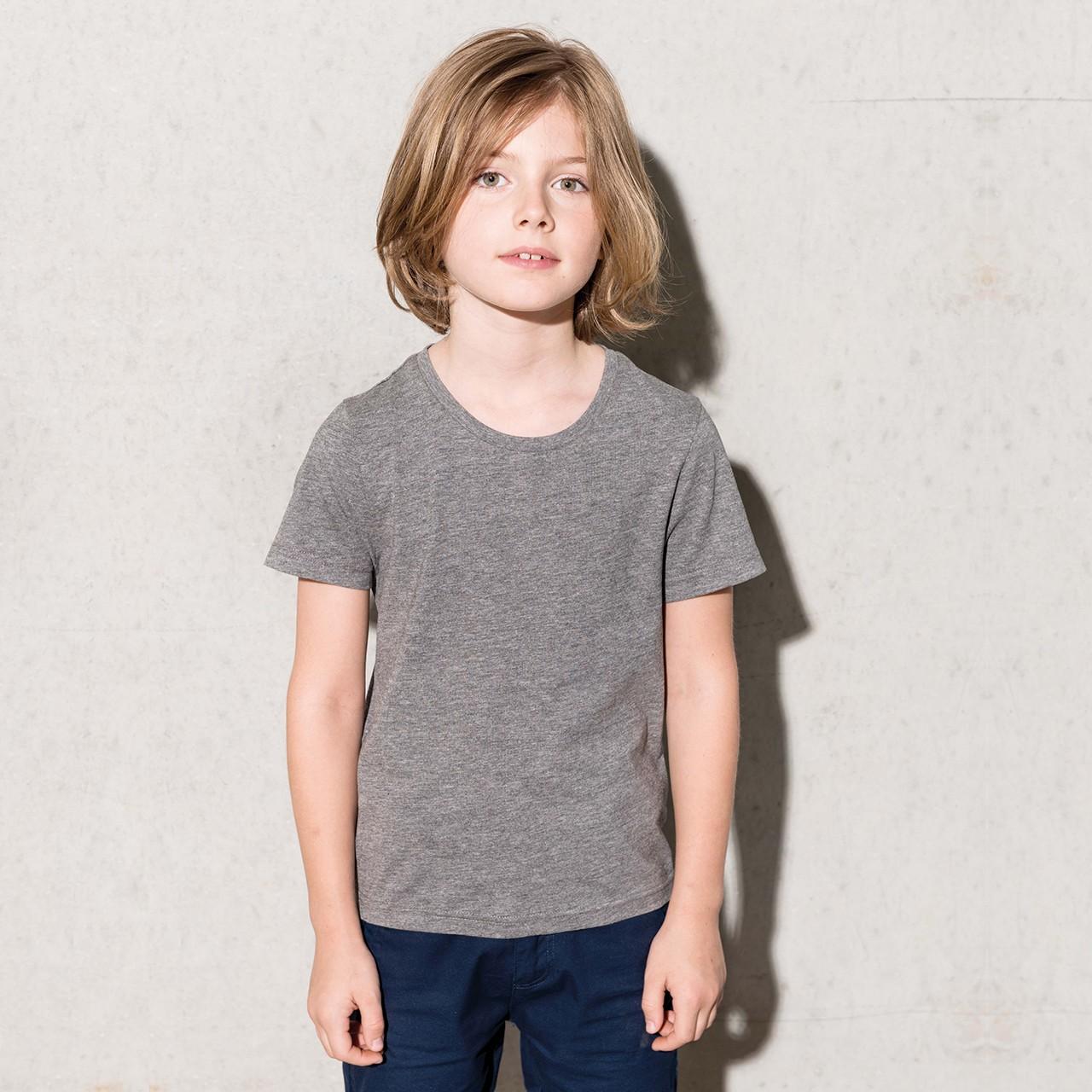 f83bbfc68a4160 Kinder Rundhals T-Shirt aus Bio-Baumwolle Kariban®