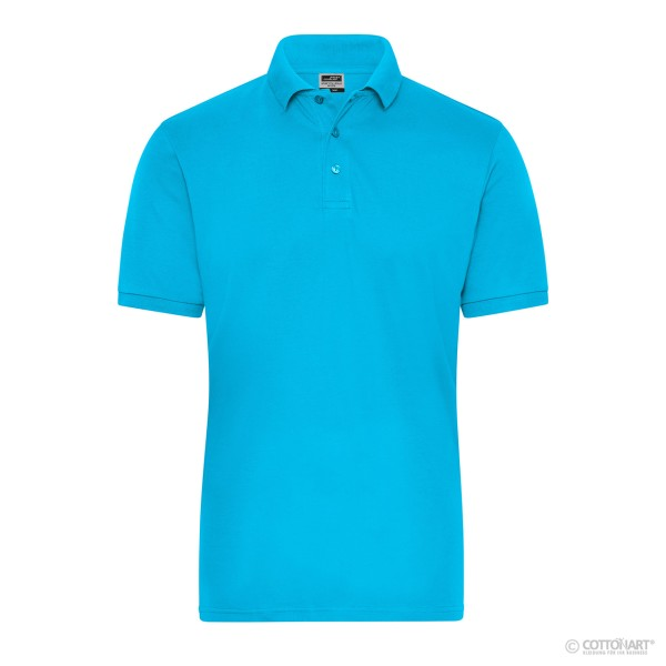 Herren Bio Workwear Polo Stretch James & Nicholson®