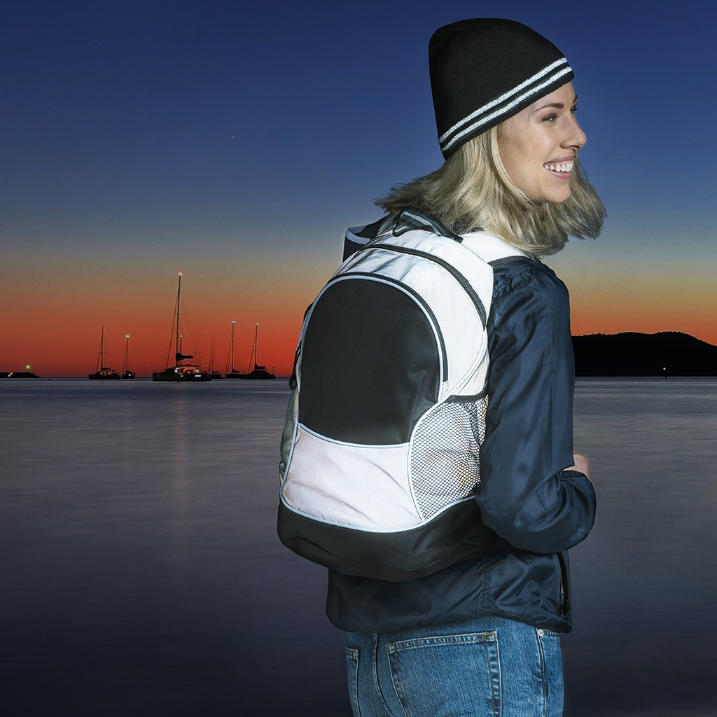 Basic Backpack Reflective Clique® | bedrucken, besticken, bedrucken lassen, besticken lassen, mit Logo |