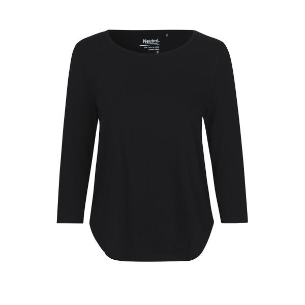 Organic Fairtrade Damen dreiviertelarm T-Shirt Neutral®