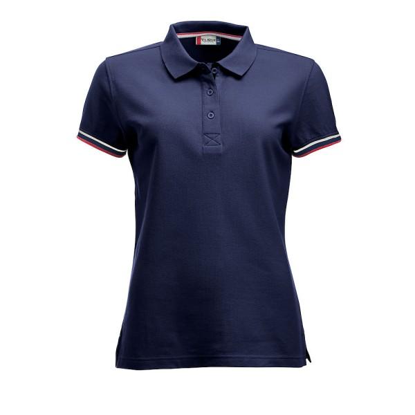 Damen Poloshirt Newton Clique®