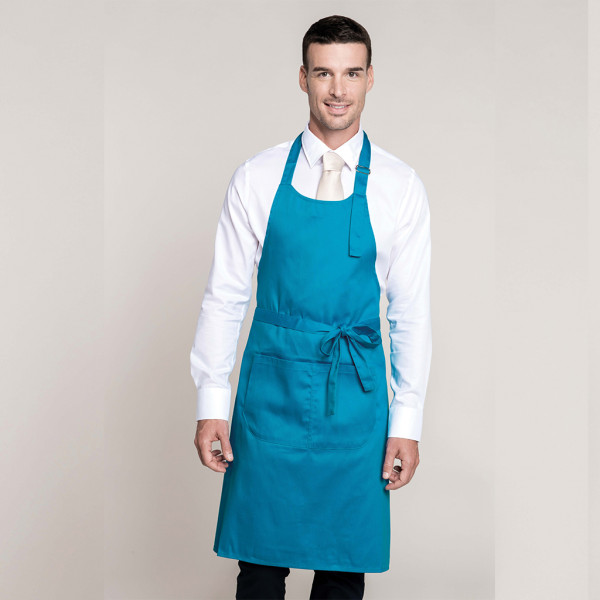 Sommelier apron with pocket blended fabric Kariban®