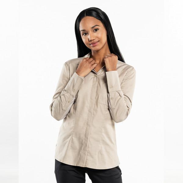 Ladies blouse UFX Sand Melee Chaud Devant®