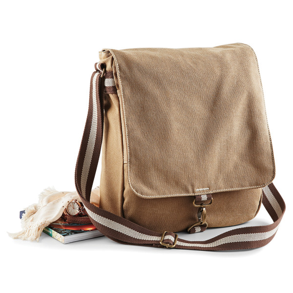 Messenger Vintage Canvas Quadra®