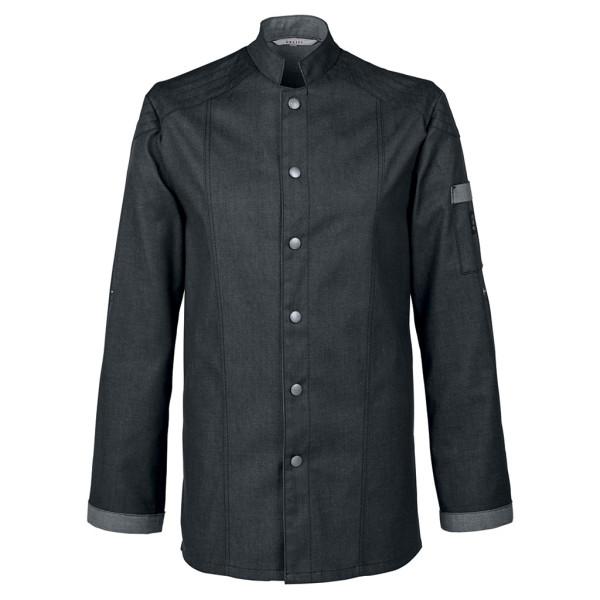 Bikerstyle denim look chef jacket RF Cuisine Premium Greiff®