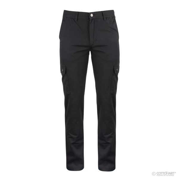 Unisex cargo trousers with leg pockets Clique®