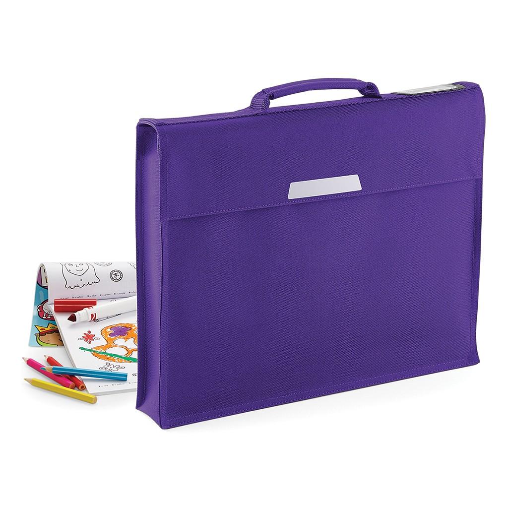 Dokumententasche Academy Book Bag Quadra® | bedrucken, besticken, bedrucken lassen, besticken lassen, mit Logo |