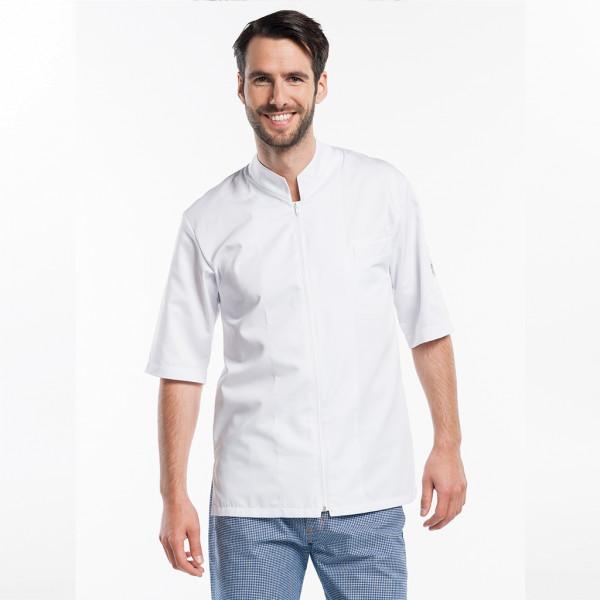 chef coat half sleeve Monza White Chaud Devant®