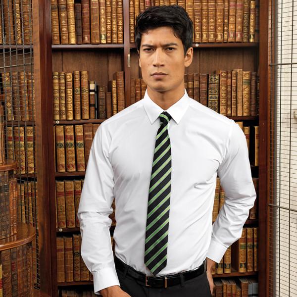 Krawatte mit Waffelmuster-Streifen Premier®