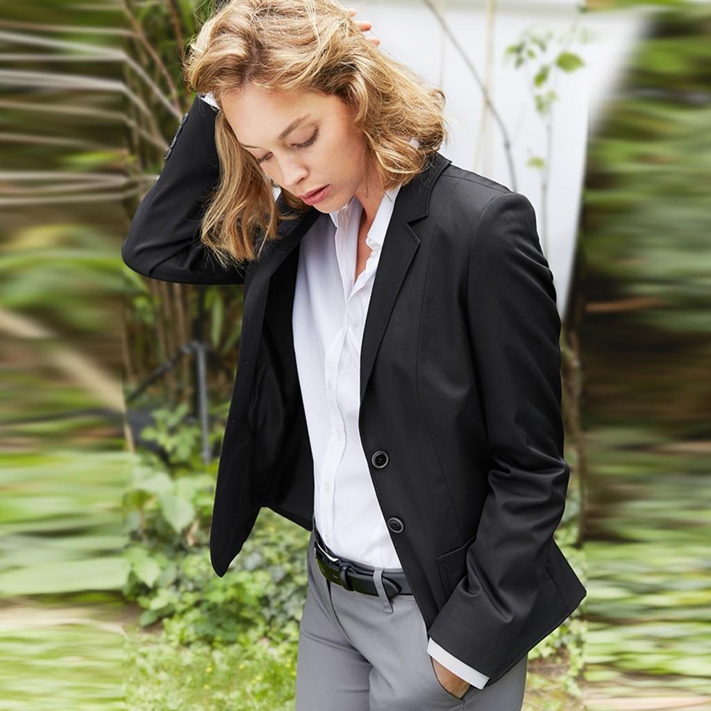 Casual Damen Blazer Regular Fit Greiff® | bedrucken, besticken, bedrucken lassen, besticken lassen, mit Logo |