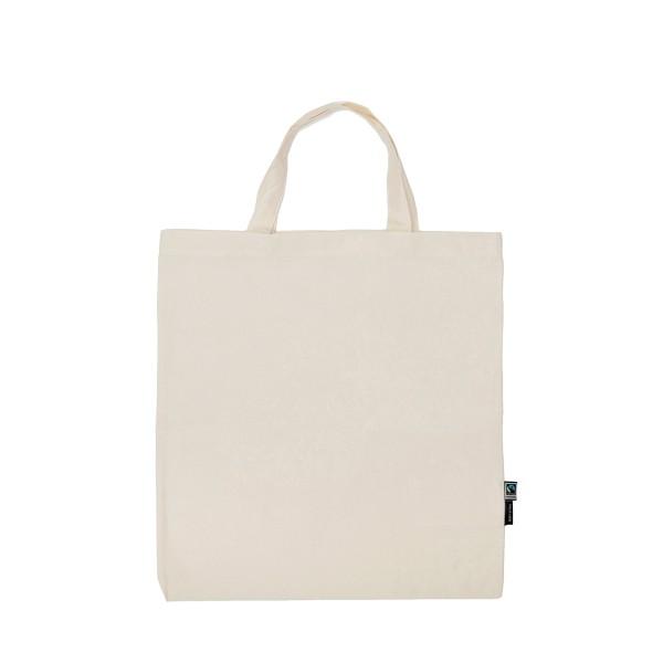Organic Fairtrade Shopping Bag Short Handles Neutral®