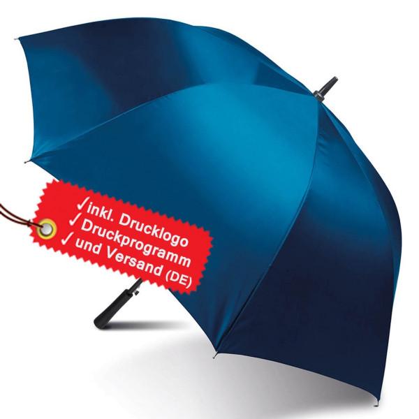 Large golf umbrella printed incl. logo KiMood®