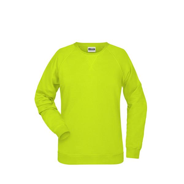 Damen Raglan Sweatshirt Bio-Baumwolle James & Nicholson®