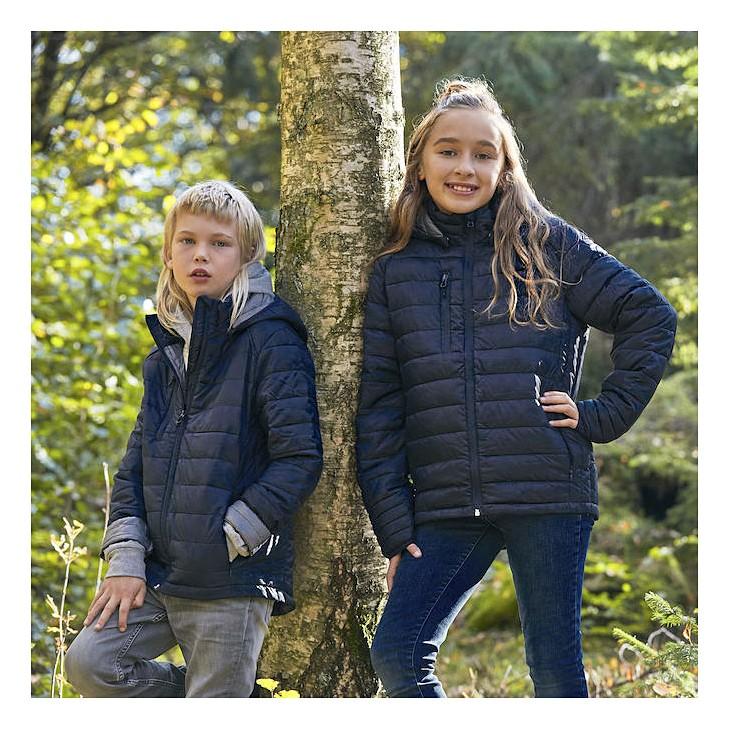 Kinder moderne Jacke Hudson Clique® | bedrucken, besticken, bedrucken lassen, besticken lassen, mit Logo |