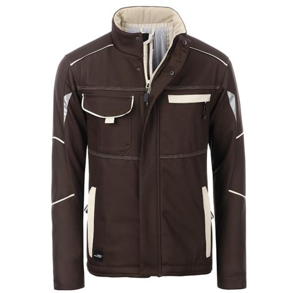 Workwear Softshell jacket lined James & Nicholson