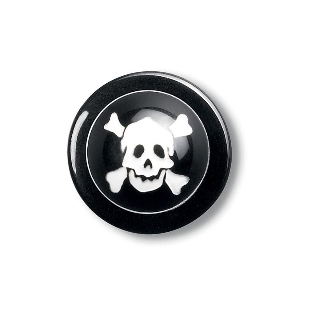 Kugelknöpfe Totenkopf 12er Pack Greiff® | bedrucken, besticken, bedrucken lassen, besticken lassen, mit Logo |