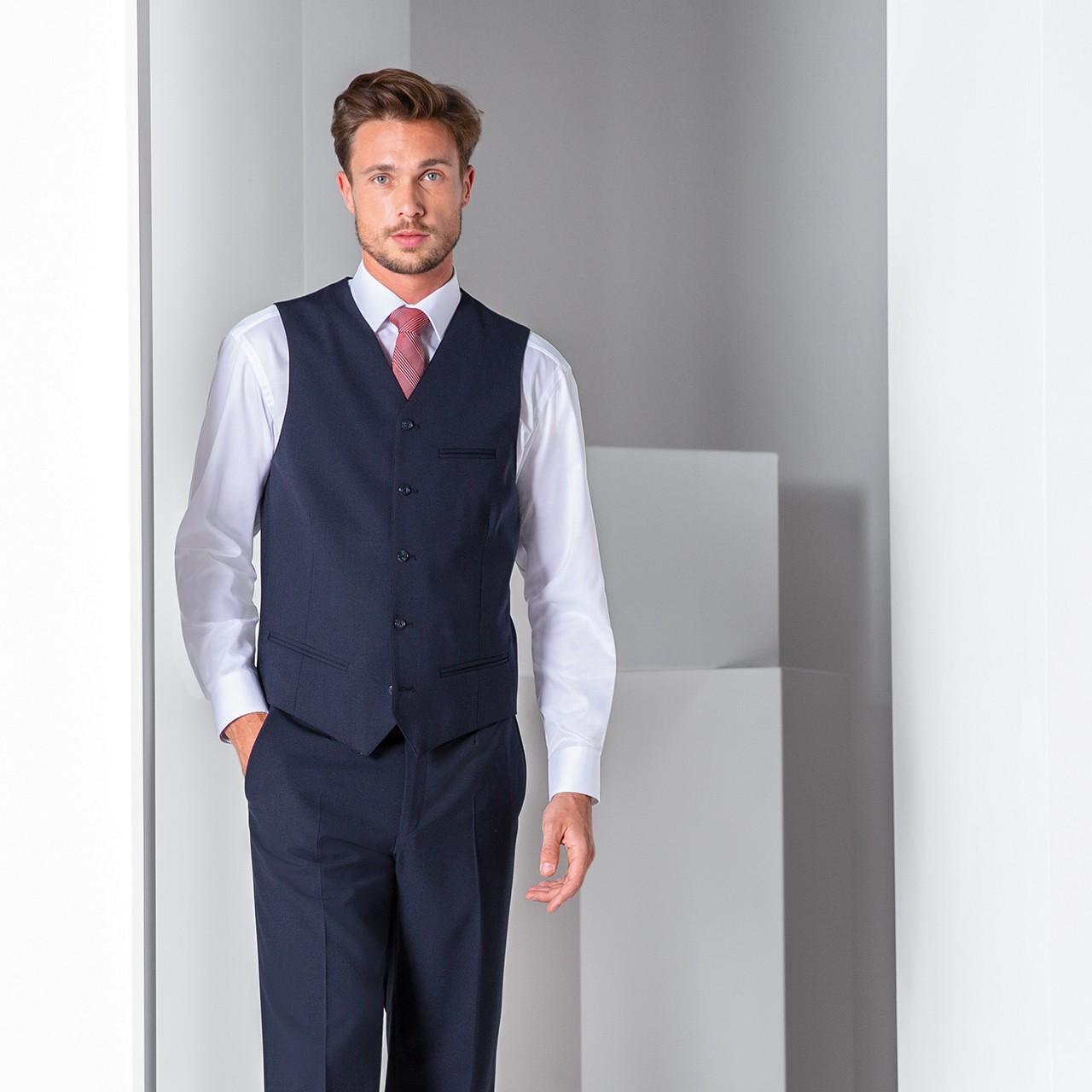 Herren Weste Comfort Fit Greiff® | bedrucken, besticken, bedrucken lassen, besticken lassen, mit Logo |